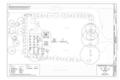 Vegetation Plan - Rohwer Relocation Center Memorial Cemetery, Arkansas Highway -1, Rohwer, Desha County, AR HALS AR-4 (sheet 2 of 6).png