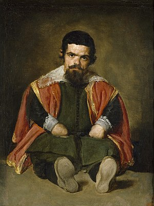 Portrait of Sebastián de Morra - Image: Velázquez – Bufón don Sebastián de Morra (Museo del Prado, c. 1645)