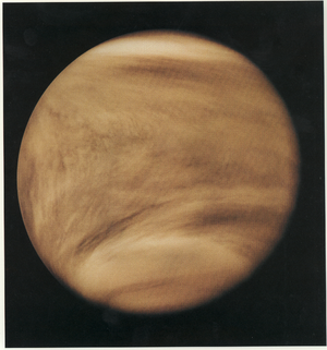 Mapping of Venus - Venusian cloud structure captured by the Pioneer Venus Orbiter using ultraviolet in 1979.