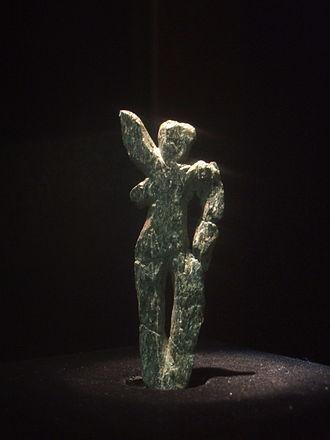 Venus of Galgenberg - Venus of Galgenberg in the Museum of Natural History in Vienna, Austria