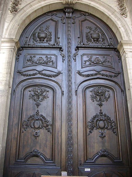 Our Lady cathedral of Verdun (Meuse, France), portal