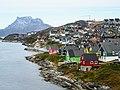 Very colorful houses along coast Nuuk Greenland.jpg
