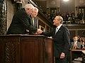 Vice President Dick Cheney congratulates Prime Minister Ehud Olmert of Israel.jpg