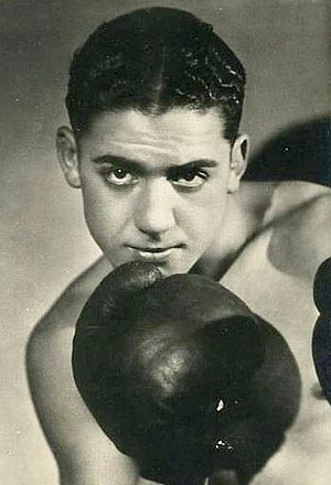 English: Victor Young Perez French Boxer
