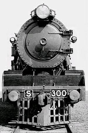 Victorian Railways S class - S300 as built in 1928