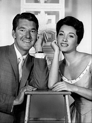 Video Village - Jack Narz and Joanne Copeland, 1960.