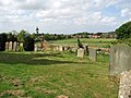 View across the churchyard - geograph.org.uk - 1299697.jpg