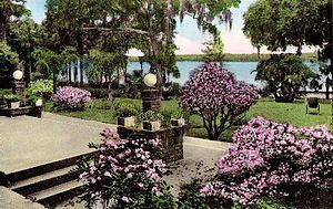 Winter Park, Florida - Veranda at the Hotel Alabama c.1922