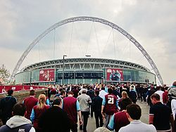 View from Wembley Way, Playoff Final 2012.jpg