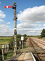 View north-west along the railway line - geograph.org.uk - 1505963.jpg