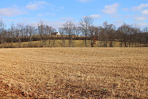New Columbus, Pennsylvania - Farmland in New Columbus