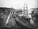 View of the harbour, Montreal, QC, 1884 (2922445156).jpg