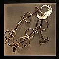 "Vikings silver amulet ring Öland Sweden - 25832793581 Swedish History Museum (Historiska museet) MuseumsPartner exhibition ""Vikings Beyond the legend"" Australian National Maritime Museum Sydney 2013.jpg"