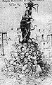 Vilnia, Muravyov-viešalnik. Вільня, Мураўёў-вешальнік (1900).jpg