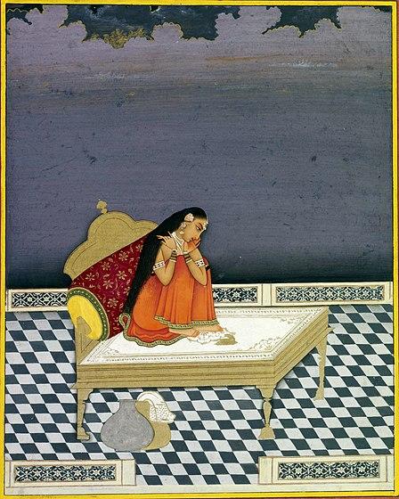 File:Vipralabdha Nayika. Jaipur, ca. 1800, British Museum, London.jpg