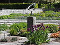 Visby Botanical Garden - The sundial.JPG