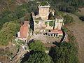 Vista aérea del castillo de Pambre 7.JPG