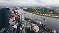 Vista de Ciudad Ho Chi Minh desde Bitexco Financial Tower, Vietnam, 2013-08-14, DD 04.JPG