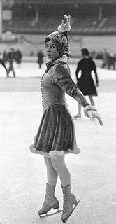 Vivi-Anne Hultén Swedish figure skater