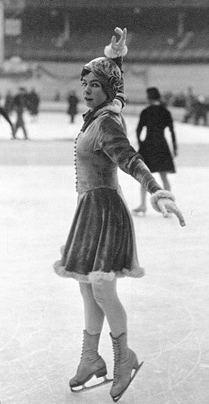 Vivi-Anne Hultén - Vivi-Anne Hultén in 1932