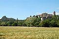Viviers et la montagne St michel à gauche.JPG