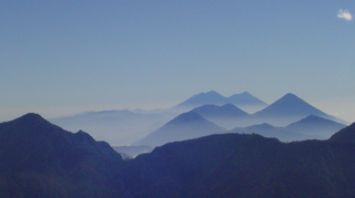 Sierra Madre de Chiapas mountain in Central America