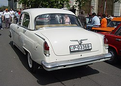Volga GAZ-M-21 produced between 1962 and 1965 or Volga GAZ-21 during the Szocialista Jáműipar Gyöngyszemei 2008 2.jpg