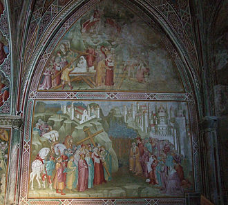 Volterra - Frescoes in the Church of San Francesco