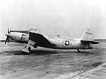 Vultee XA-41 at NAS Patuxent River in September 1944.jpg