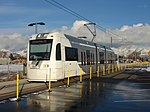 WB S Line at South Salt Lake City station, Jan 16.jpg