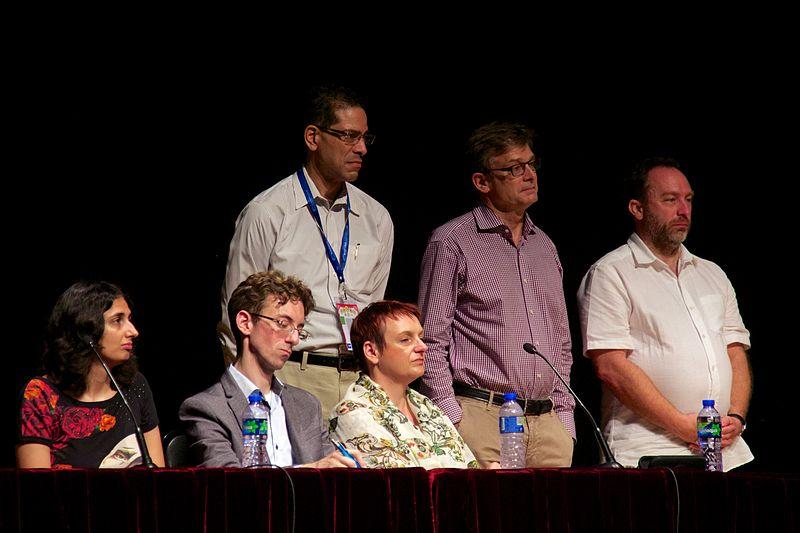 File:WMF board Q&A, Wikimania 2013 10.jpg