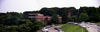 Wagner College - A panorama of the Wagner Union building.