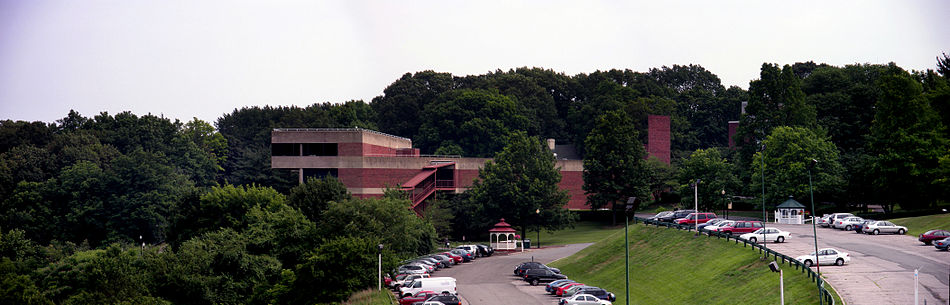 A panorama of the Wagner Union building.