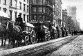 Wagons removing snow in New York City, 1908.jpg