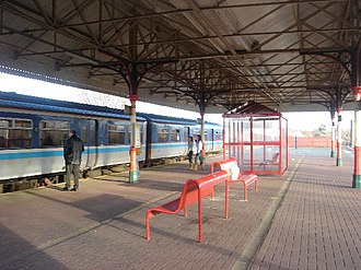 Walkden railway station - Image: Walkden railway station 1
