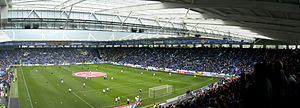 Innenansicht des King Power Stadium