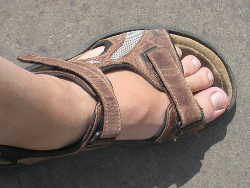Walking sandal