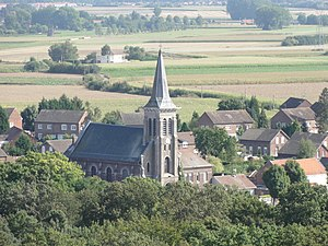 Wallers - Image: Wallers Église Sainte Barbe des mines d'Anzin (16)