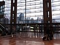 Wan Chai North 灣仔北 HKCEC interior 香港會展 Convention Road Expo Drive exit glass wall window January 2019 SSG 03.jpg