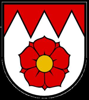 Rosengarten, Baden-Württemberg - Image: Wappen Rosengarten am Kocher
