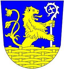 schreitender löwe punze