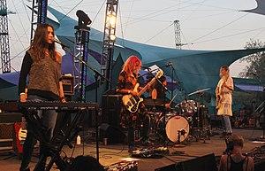 Warpaint (band) - Warpaint performing in 2014