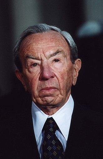 Warren Christopher - Christopher in 2000
