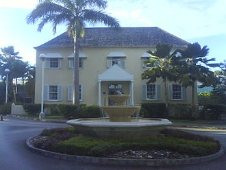 Sugar plantations in the Caribbean - Warrens Great House, St. Michael, Barbados