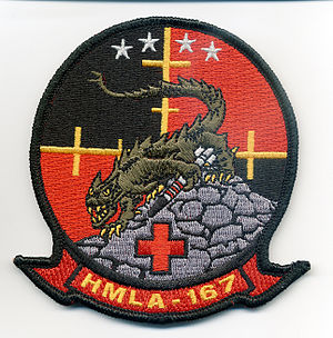 HMLA-167 - Image: Warrior patch 2010