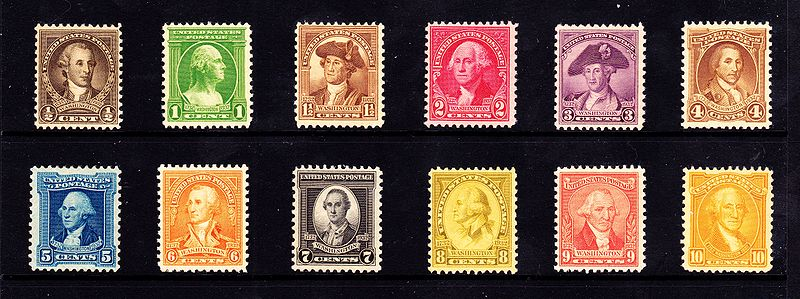 Presidents Of The United States On US Postage Stamps