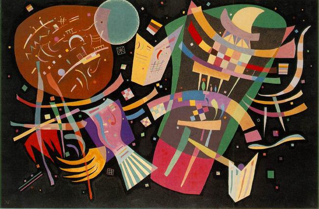 Wassily Kandinsky, 1939 - Composition X