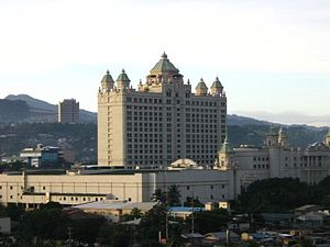 Waterfront Cebu City Hotel, site of the 1998 A...