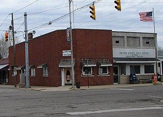 Waynetown, Indiana - Image: Waynetown post office