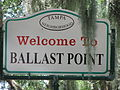 Welcome to Ballast Point Sign.JPG